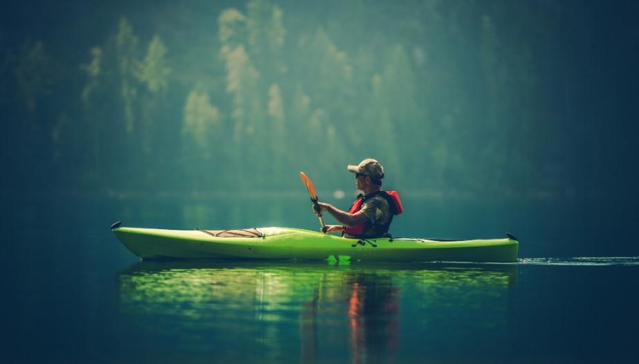 Green Sun Dolphin Fishing Kayak