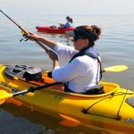 Two kayaks for beginners