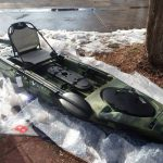 Vibe military fishing kayak