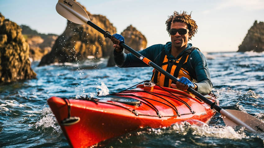 Choose the right weather for kayaking