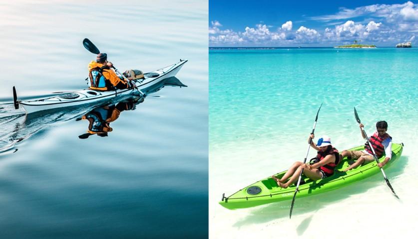 Sit On Top vs.Sit-in kayak