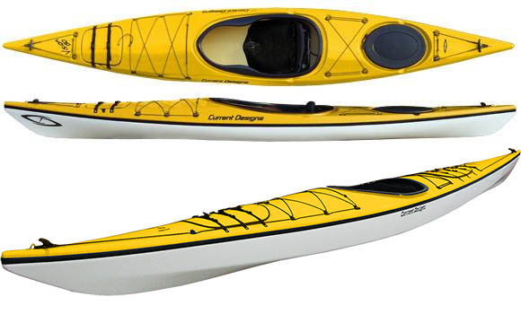 composite/glass construction kayaks
