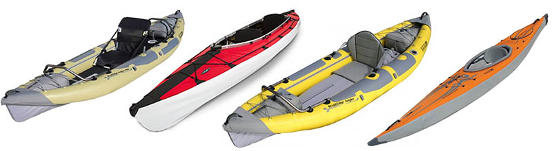 inflatable/folding kayak