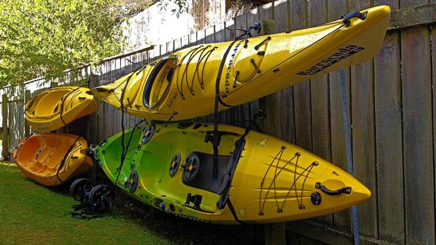 How to Store your Kayak